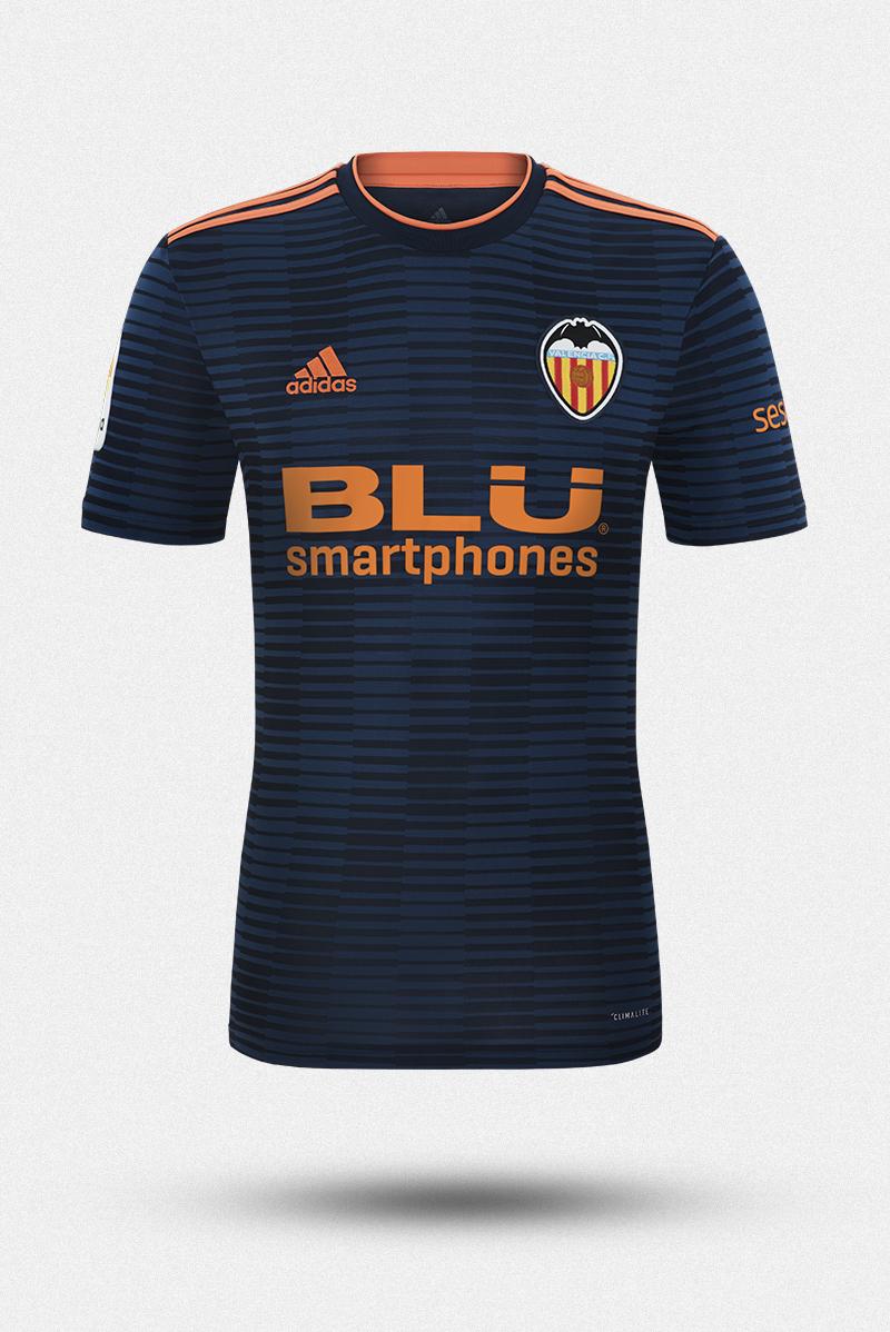 Valencia CF -  Equipación 2018.19